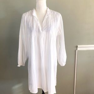 Lauren Ralph Lauren Vintage White Tunic Size Large